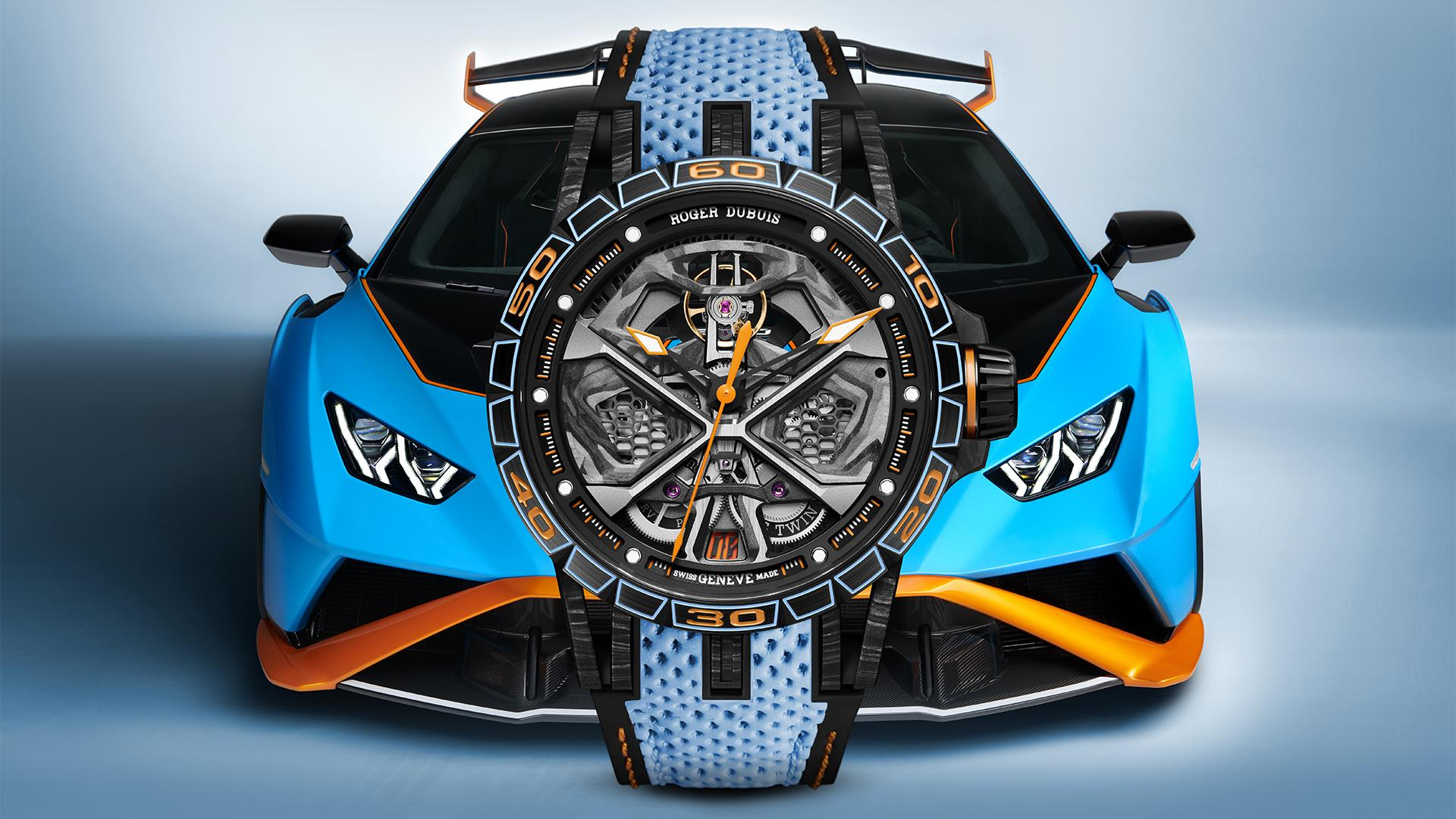Roger Dubuis Huracán STO, best car-inspired watches