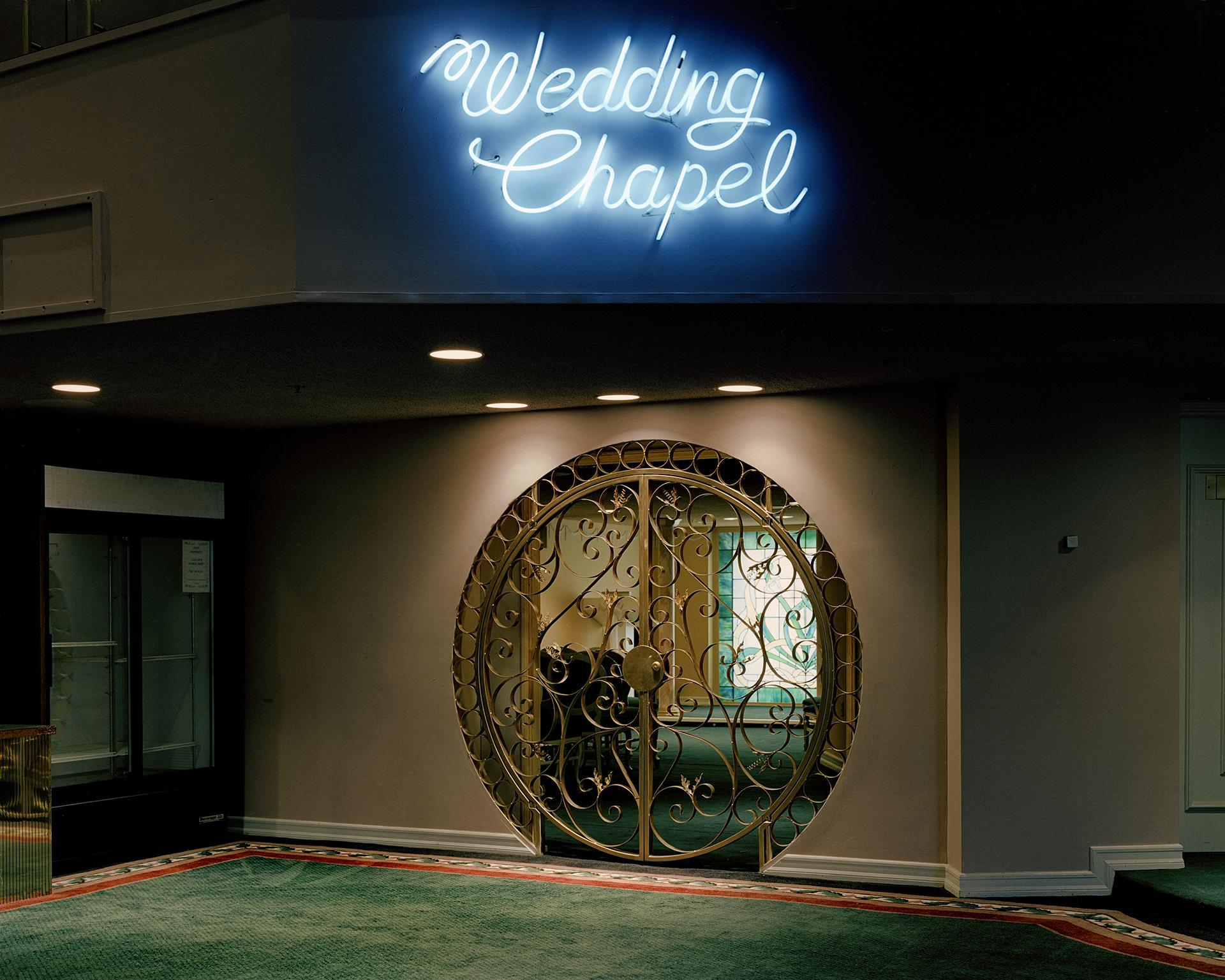 The Neon Chapel by Jane Hilton