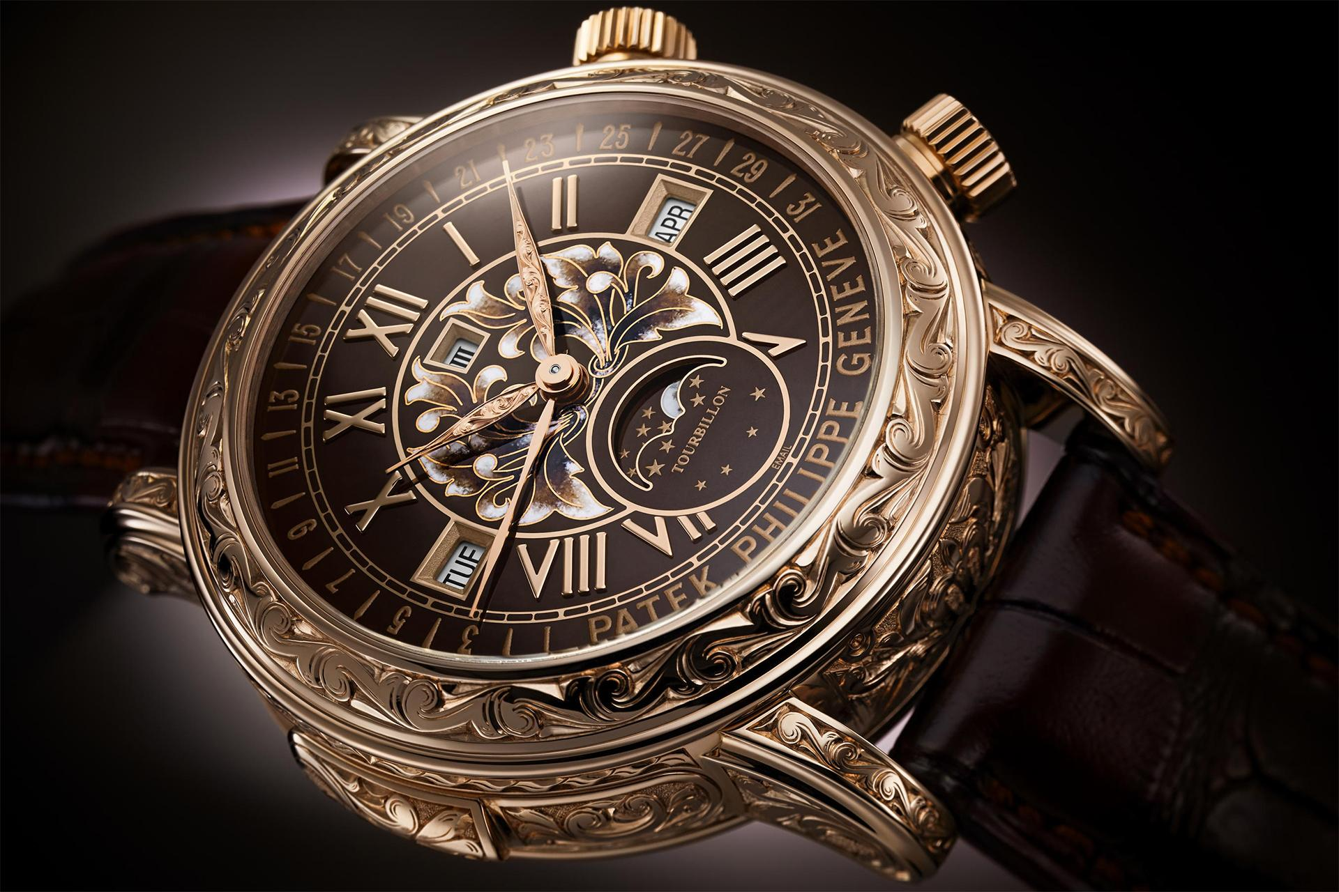 Patek Philippe Sky Moon Tourbillion Ref.6002R watch