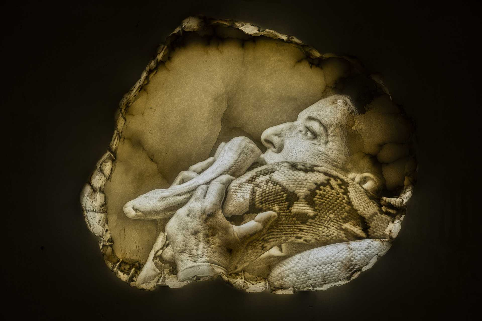 Marina Abramović, Seven Deaths Series, The Snake, 2020/2021 (Lisson Gallery)