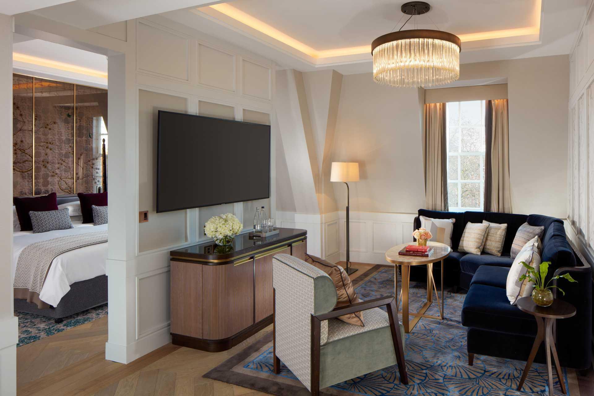President Suite bedroom, The Biltmore