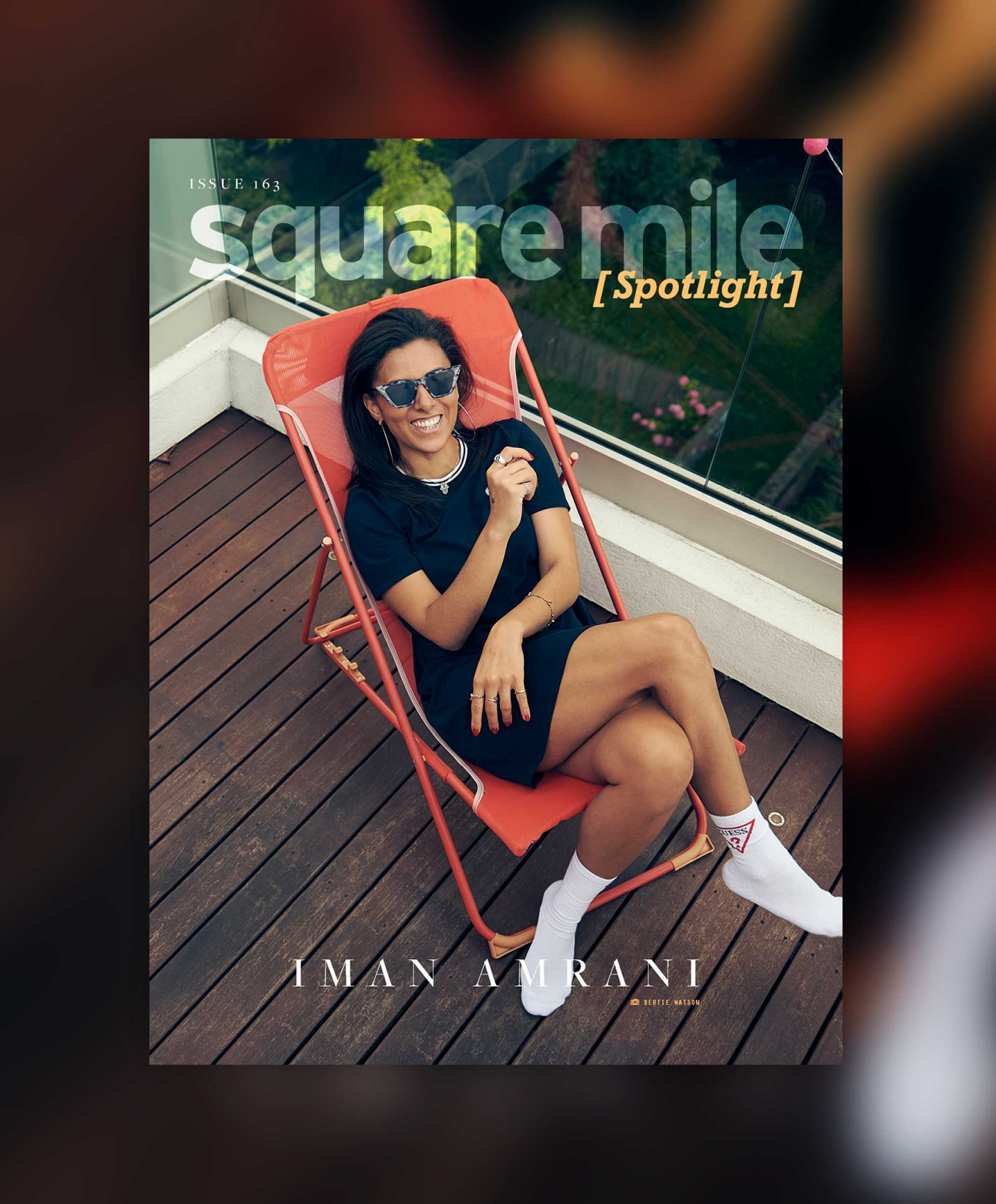 Iman Amrani for Square Mile magazine