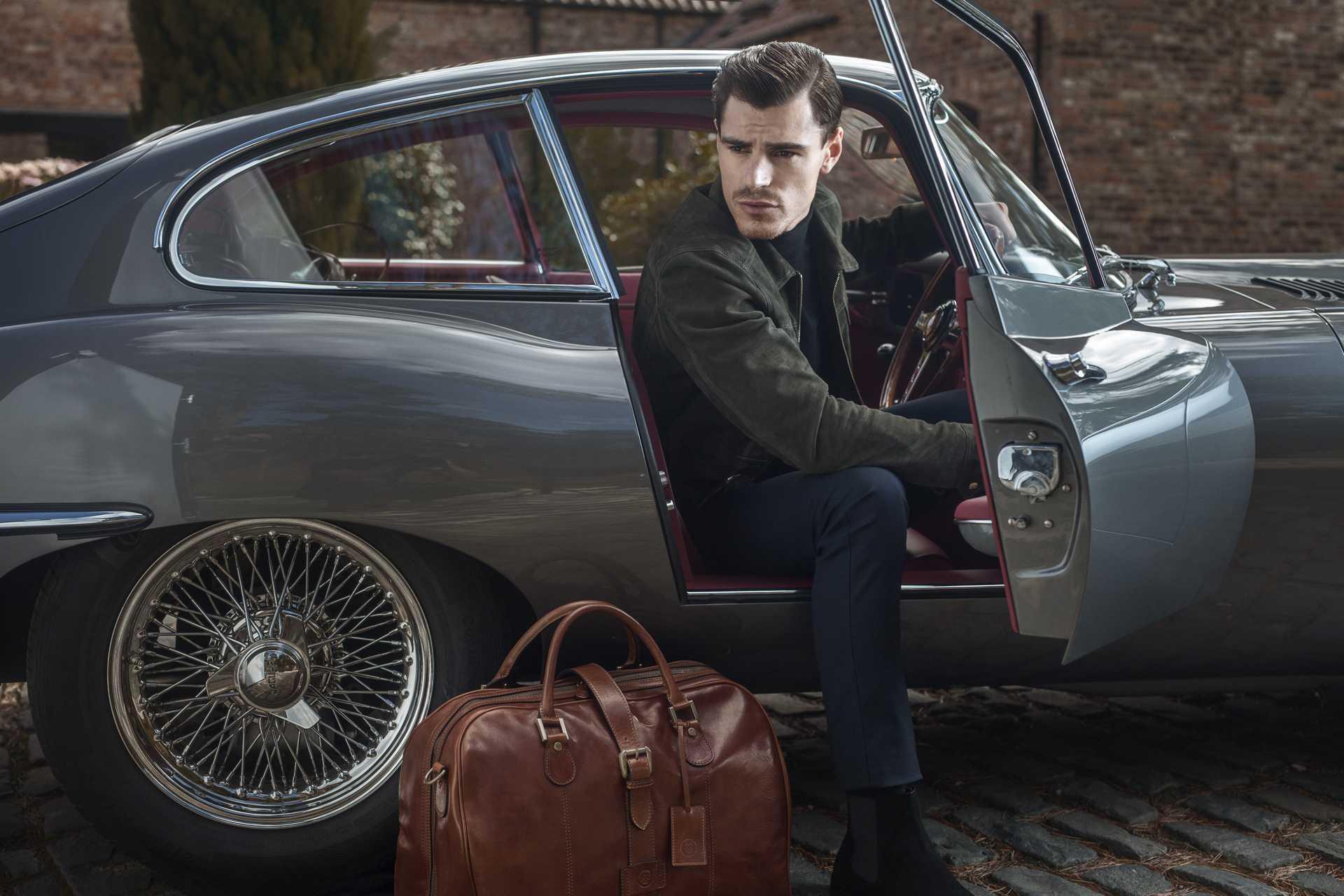 MAXWELL-SCOTT Farini cabin bag, £680