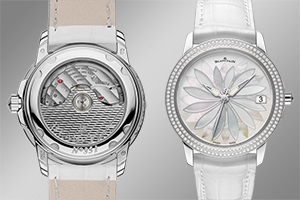 Blancpain's Ultra-Slim Mother of Pearl & Diamonds