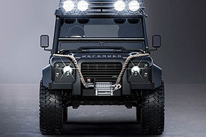 James Bond's Land Rover Defender Bigfoot for Spectre