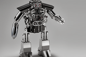 Melchior the robot by MB&F