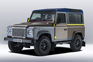 Paul Smith's Land Rover Defender