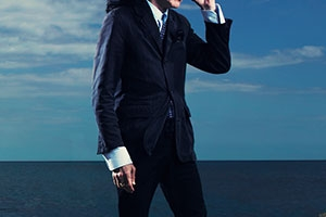 John Cooper Clarke shot by Tom Oldham