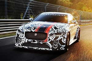 Jaguar XE SV Project 8 car