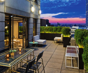 Time Hotel NYC – Penthouse Terrace