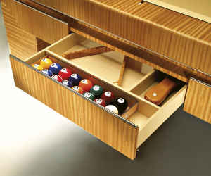 The best pool tables in the world