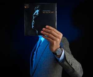 Vacheron Constantin Fiftysix Complete Calendar watch in blue