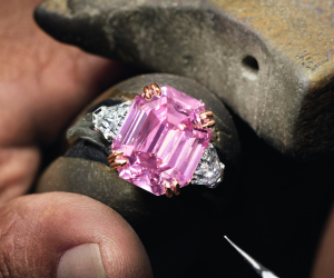 Harry Winston Winston Pink Legacy Diamond Ring