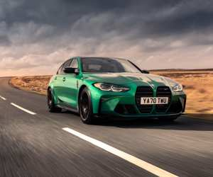 The new BMW M3 Competition Saloon